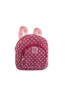 Mini mochila de tela para niños con tiras regulables.  Medidas: 20 cm x 20 cm -
