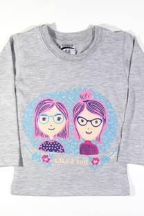 "Camiseta Beba ""Lili & Rose"" -"