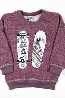 "Buzo Cuello Redondo ""Skate For Life"" -"