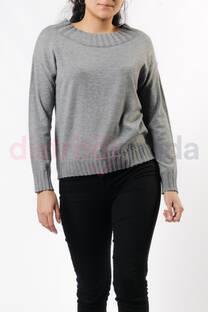 Sweater Cuello rib -