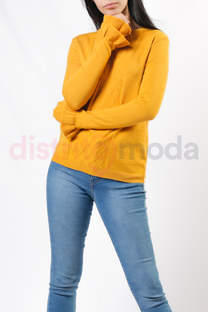 Sweater con volado abajo -