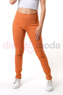 Pantalon tipo Calza Bengalina con Cierre (S/M/L) -