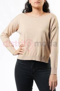 Sweater cuello bote  -