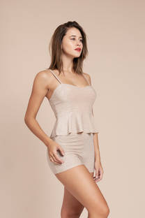 Top Lurex C/Volado♥ -