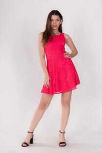 Vestido Encaje Corto -