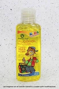Alcohol en Gel Hipoalergénico para Niños 65 ml -