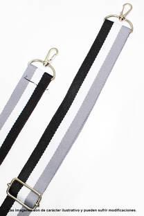 Correa / Cinto ajustable. Medidas: 4 cm de ancho, 80 cm de largo aprox, extendible. -