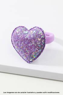 Colita corazón Glitter. -