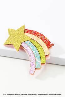 Broche/ Pinza con Glitter -