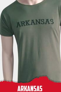 Remera Bordada Arkansas -