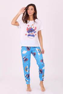 Conjunto Pijamas Stitch -