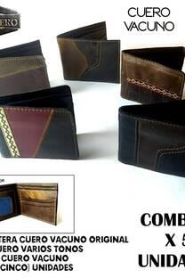 BILLETERAS COMBO 3 -