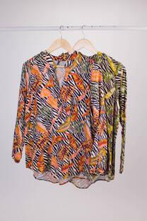 Camisa Callao Cebra de Twill -