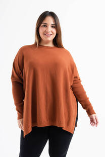 Sweater ancho liso -