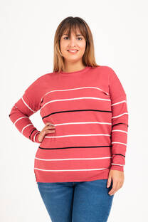Sweater rayado XXL -
