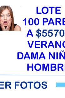 LOTE 100 PARES VARIOS SUPER OFERTA -