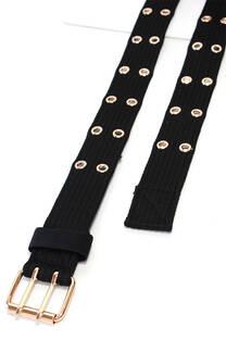 Cinturón tejido.