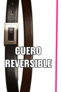 """CINTURON   OGGI """"CUERO VACA"""" ,   reversible. -"""