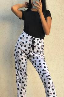 Pijamas pantalon(solo) Mickey  Mouse lunares -