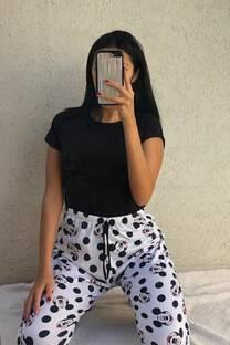 Pijama Pantalon(solo) Mickey Mouse lunares -