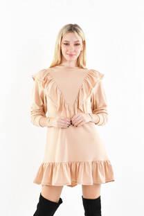 vestido lanilla  -