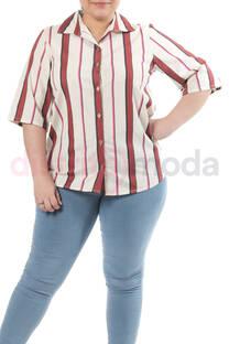 Camisa Lino Rayado -