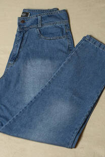 Pantalón Jean Mom localizado (Talles especiales) -