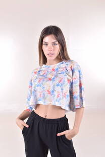 PACK X3 REMERAS FLOWERS -
