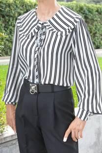 Camisa Evelyn raya -