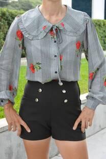 Camisa Evelyn Flor -