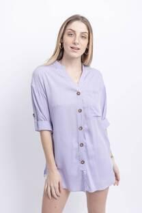 21111 Camisa Manga Presillas Hortensia -