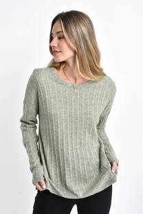 sweaters angora trenza  -