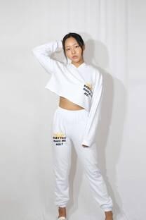 Pantalon rustico t1 c/estampa BABY YOU MAKE ME MELT -