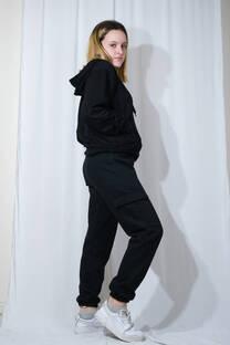 Pantalon cargo frisa -