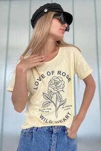 Remera Rose  -