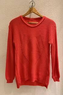 Sweater calado acrílico -