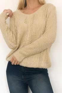 Sweater Lana súper suave camy  -