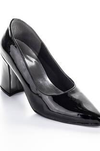 Zapato Negro Charol Derek -