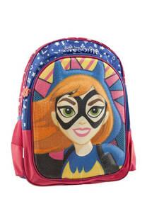 """Mochila DC Super hero girls diseño """"Batgirl"""" impermeable reforzado y resistente, detalles con lentejuelas, bolsillo frontal de amplio tamaño, laterales en red y tiras regulables. -"""