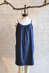 GRINA - Vestido de jean