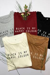 Happy colour remera -