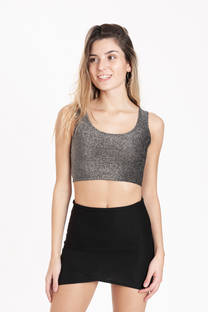 Top Musculosa Madrid Gris -
