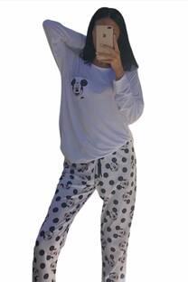 Conjunto Pijama Mickey Mouse Lunares -