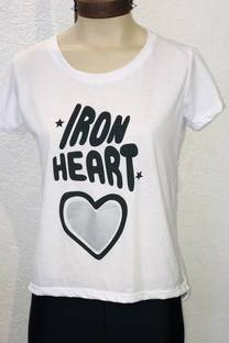 REMERA IRON HEART -