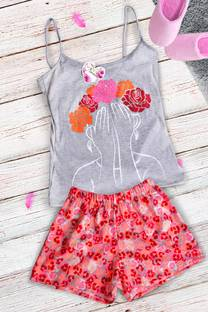 Pijama dama juvenil  -