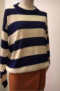 Sweter rayado -