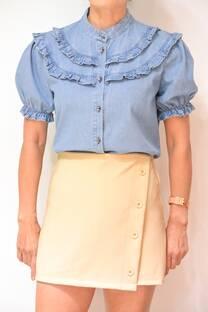 Camisa Jean Rose -