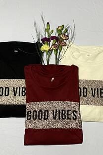 Good vibes remera  -