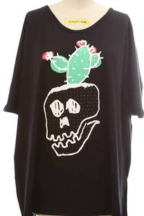Maxi calavera cactus con strass -