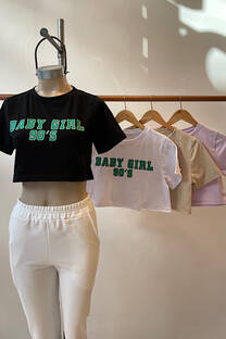 Remera Cropped Baby -